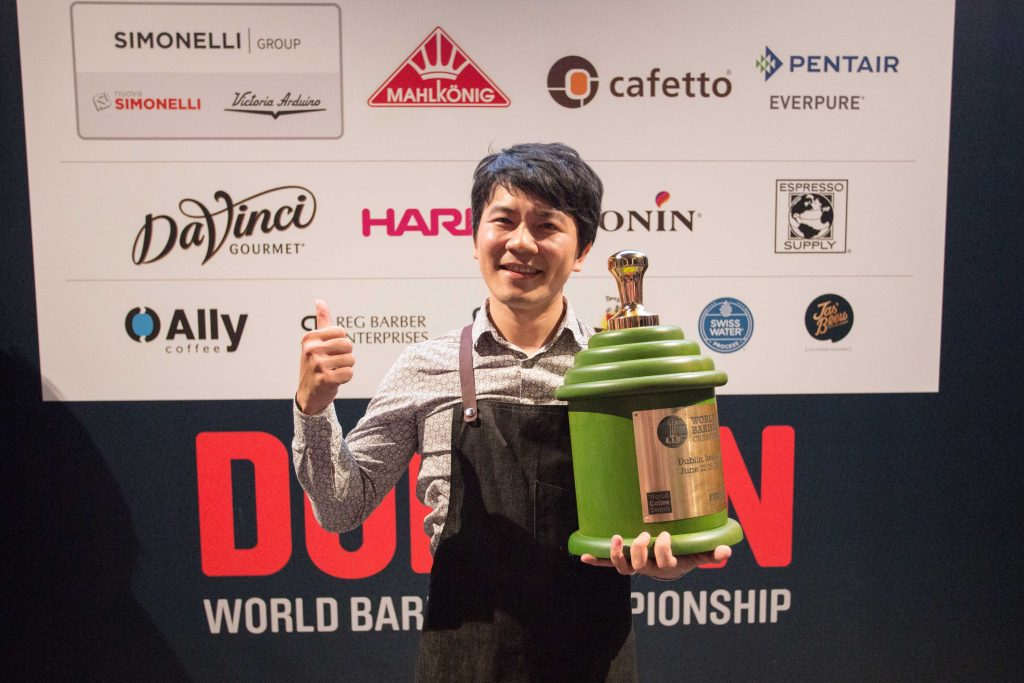 Berg Wu of Taiwan has emerged victorious as the 2016 World Barista Champion