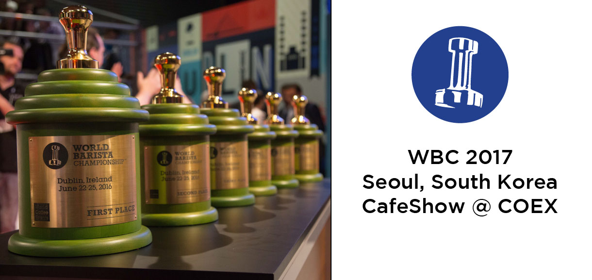 World Coffee Events presents WBC 2017 in Seoul, Korea