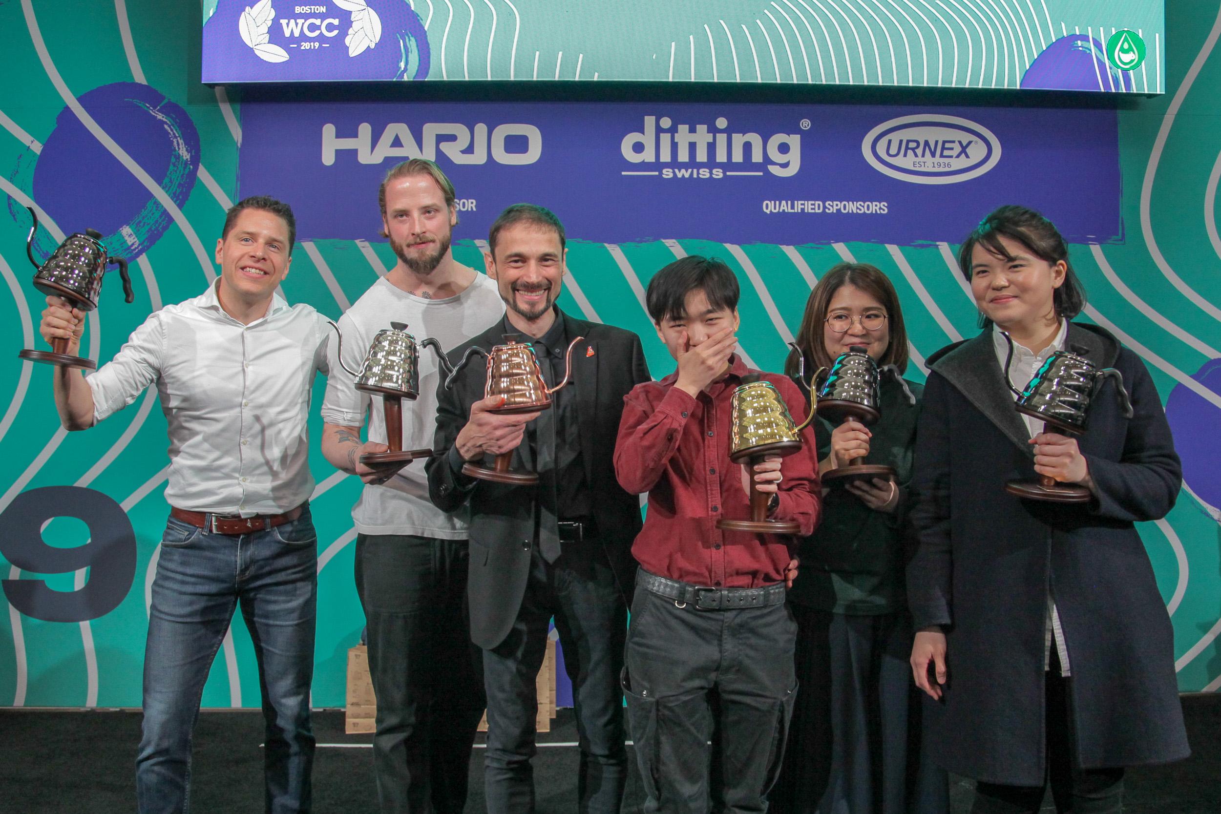 祝贺杜嘉宁代表中国夺得2019年世界咖啡冲煮大赛冠军